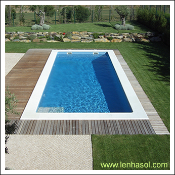 Lenhasol for Piscina exterior